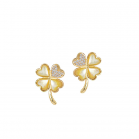 LUCKY CHARM  DIAMOND Earring (D0.13)