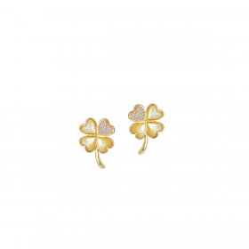 LUCKY CHARM DIAMOND Earring (D0.15)
