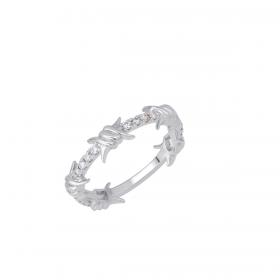 18K DIAMOND CUTIES RING (D:0.16)
