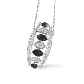 CHESS  DIAMOND PENDANT CHAIN (D0.40)