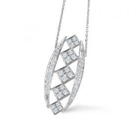CHESS  DIAMOND PENDANT CHAIN (D0.30)