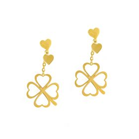 LUCKY CHARM 18K GOLD Earring