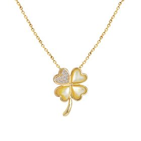 LUCKY CHARM DIAMOND Necklace (D0.18)