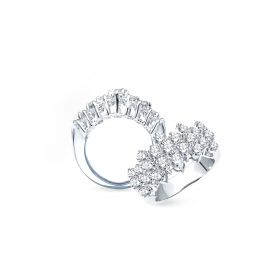 Princess 18K DIAMOND RING(D:1.03)