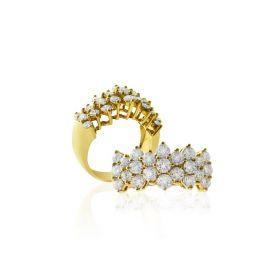 PRINCESS DIAMOND Ring (D2.49)