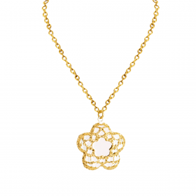 18K GOLD PENDANT CHAIN