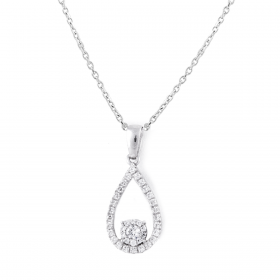 FABULOUS DIAMOND PENDANT CHAIN (D0.33)