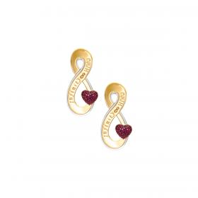 Infinity 18K GOLD Earring