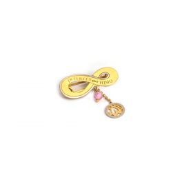Infinity GOLD Pin