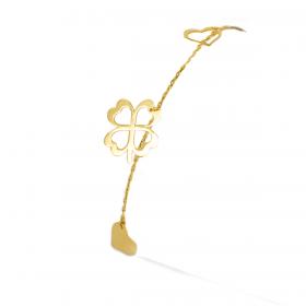 LUCKY CHARM 18K GOLD Bracelet