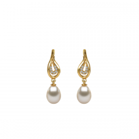 Perla 18k DIAMOND Earring (D0.09)
