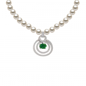 Perla DIAMOND Necklace (D0.46)-E(0.840)