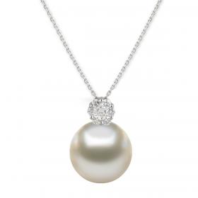 Perla 8k DIAMOND Pendant Chain (D0.09)