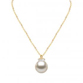 Perla 18k DIAMOND Pendant Chain (D0.05)