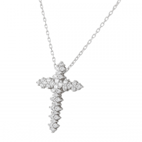 Princess  DIAMOND PENDANT CHAIN (D0.99)
