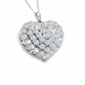 Princess 18k DIAMOND PENDANT CHAIN (D1.88)