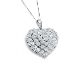 Princess 18k DIAMOND Pendant Chain (D0.93)