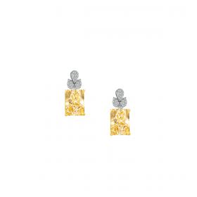 SUNSHINE 18K GOLD EARRING (D:0.2)