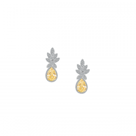 SUNSHINE 18K GOLD EARRING (D:2.36)