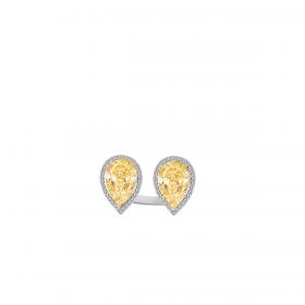 SUNSHINE 18K GOLD RING (D:0.45)