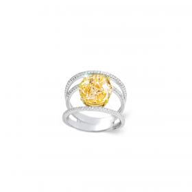 SUNSHINE 18K GOLD RING (D:1)