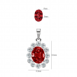 RUBY LADY D DIAMOND PENDANT CHAIN (D0.09)-R(1.090)