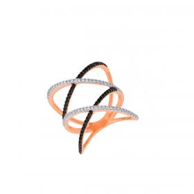 18K DIAMOND CUTIES RING (D:0.444)