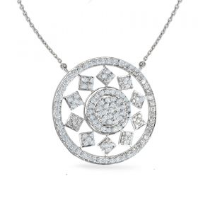 CHESS  DIAMOND Necklace (D1.49)