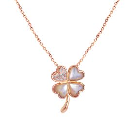 LUCKY CHARM DIAMOND Necklace (D0.14)