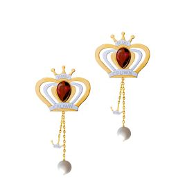 Princess 18K GOLD Earring