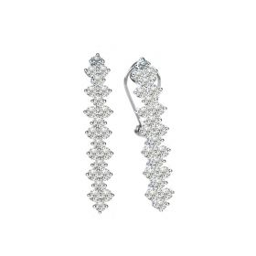 Princess  DIAMOND Earring (D1.42)