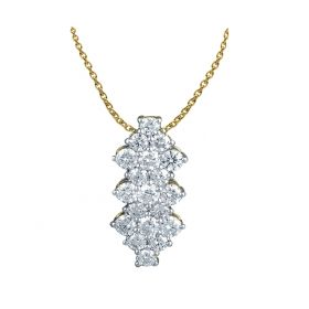 Princess  DIAMOND PENDANT CHAIN (D2.13)