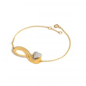 Infinity DIAMOND Bracelet (D0.33)