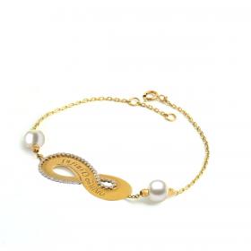 Infinity DIAMOND Bracelet (D0.28)