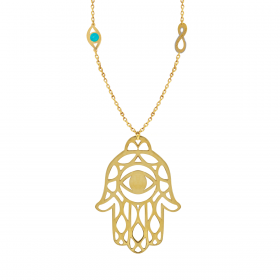 Infinity GOLD Necklace