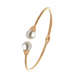 Perla 18K Gold Bangle