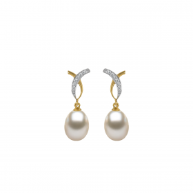 PERLA DIAMOND  Earring(D:0.08)