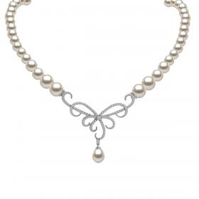 Perla 18k DIAMOND Necklace (D0.48)
