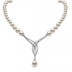 Perla 18k DIAMOND Necklace (D0.33)