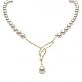 Perla 18k DIAMOND Necklace (D0.50)