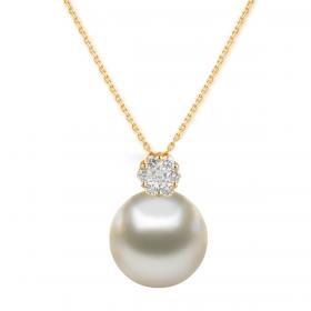 Perla 18k DIAMOND Pendant Chain (D0.09)