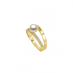 Perla 18k DIAMOND Ring (D0.15)