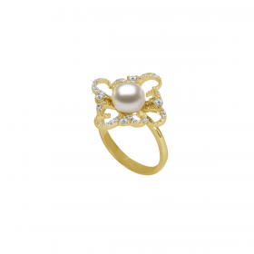 Perla 18k DIAMOND Ring (D0.27)