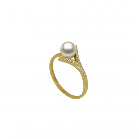 Perla 18k DIAMOND Ring (D0.10)