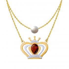 Princess 18K Gold Necklace