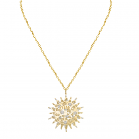 SKYLIGHT 18K GOLD PENDANT