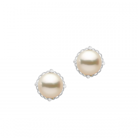 SOUTH SEA 18KT DIAMOND EARRING (D:0.1)