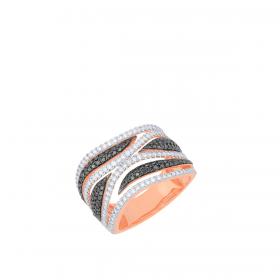 18K DIAMOND CUTIES RING  (D:1.79)