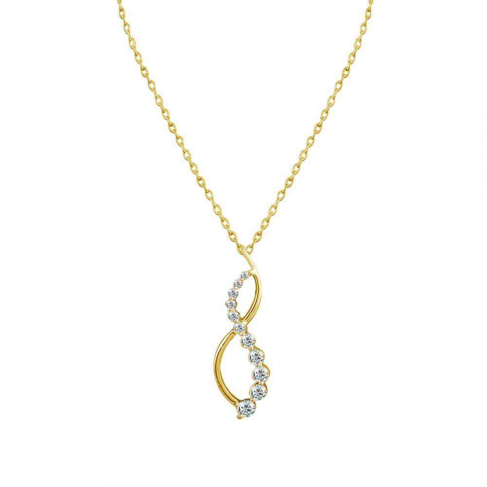 JOY DIAMOND PENDANT CHAIN (D0.92)