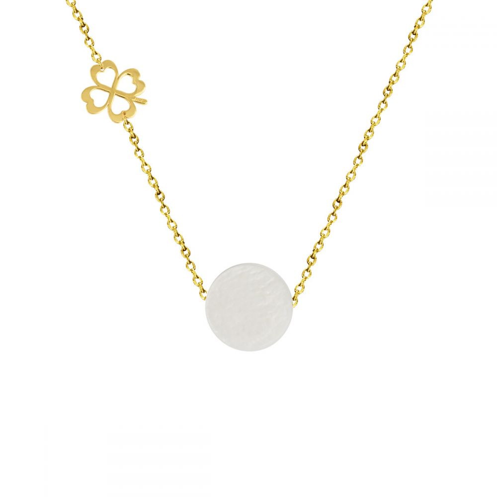 LUCKY CHARM 18K Gold Necklace